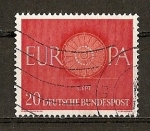 Stamps Germany -  Tema Europa.