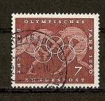 Sellos de Europa - Alemania -  Juegos Olimpicos de Roma.