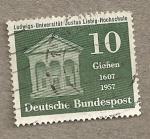 Stamps Germany -  Universidad Ludwigs