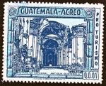 Stamps Guatemala -  PRO TURISMO - Ruinas de Catedral Antigua Guatemala