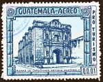 Sellos de America - Guatemala -  PRO TURISMO - Ruinas de Capuchinas Antigua Guatemala