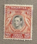 Stamps Africa - Tanzania -  Rey Jorge VI