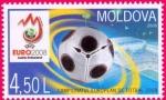 Stamps Moldova -  eurocopa futbol 2008
