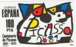 Stamps Europe - Spain -  2609- CENTENARIO DE PICASSO 1881-1973