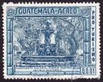 Sellos de America - Guatemala -  PRO TURISMO Fuente Colonial Parque Central Antigua Guatemala
