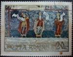Sellos de Europa - Rumania -  Sucevita monastery