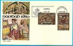 Stamps Spain -  Navidad 1980 - La Coruña  - SPD