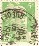 Sellos de Europa - Francia -  RF postes verde