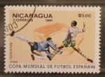 Stamps Nicaragua -  mundial futbol españa 82, balaidos vigo