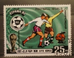 Stamps Asia - North Korea -  mundial futbol españa 82