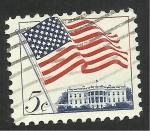 Stamps : America : United_States :  Bandera de Estados Unidos