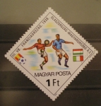 Sellos del Mundo : Europa : Hungría : mundial futbol españa 82