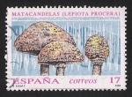 Sellos de Europa - España -  SETAS-HONGOS: 1.232.002,01-Lepiota procera -Phil.241930-Dm.993.7-Ed.3244-Y&T.2815-Mch.3103-Sc.2701