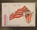 Stamps Spain -  centenario ath. bilbao futbol