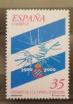 Sellos del Mundo : Europa : España : centenario r.c.d. espanyol futbol