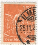 Sellos de Europa - Alemania -  Deutfehes Reich 150 1923