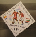 Sellos de Europa - Hungría -  mundial futbol españa 82