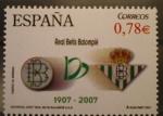 Sellos del Mundo : Europa : España : centenario real betis balompie futbol