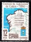 Sellos de Europa - España -  E2611 Galicia (339)
