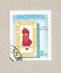 Stamps Albania -  VII Juegos Balcánicos