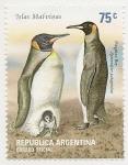 Stamps Argentina -  Pingüino Rey