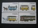 Sellos del Mundo : America : Estados_Unidos :  Transportes históricos de Estados Unidos
