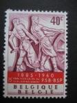 Sellos de Europa - Bélgica -  Aniversario del partido comunista