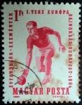 Sellos de Europa - Hungría -  Campeonato de Europa de Bolos 1964