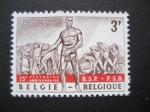 Stamps Belgium -  75 Aniversario del Partido Comunista