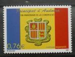 Stamps Andorra -  10º aniversario de la constitucion