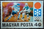 Sellos de Europa - Hungría -  Juegos Olímpicos de Invierno / Sapporo 1972