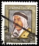 Sellos de Asia - Kuwait -  Shaikn Abdellah Salin