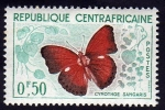 Stamps Europe - Central African Republic -  Cimothoes Sangaris