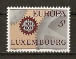 Sellos de Europa - Luxemburgo -  Tema Europa.