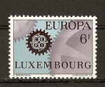 Stamps Europe - Luxembourg -  Tema Europa.