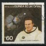 Sellos de Africa - Guinea Ecuatorial -  Astronauta y Nave Espacial