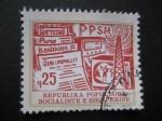 Stamps : Europe : Albania :  Variedad de prensa  y comunicación