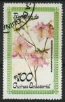 Sellos del Mundo : Africa : Guinea_Ecuatorial : Flores - Rhododendron schlippenbachii