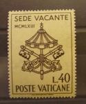 Stamps Vatican City -  SEDE VACANTE