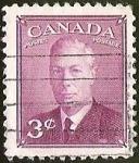 Sellos de America - Canadá -  REY JORGE VI