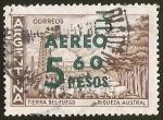 Sellos de America - Argentina -  TIERRA DEL FUEGO - RIQUEZA AUSTRAL - SOBRETASA