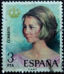Stamps Spain -  Reina Sofía