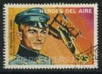 Sellos de Africa - Guinea Ecuatorial -  Heroes del Aire - M. F. Von Richthofen