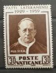 Stamps Europe - Vatican City -  XXX ANIVERSARIO FIRMA PACTO DE LETRAN