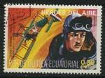 Sellos de Africa - Guinea Ecuatorial -  Heroes del Aire - Georges Guynemer