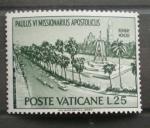 Stamps Vatican City -  VIAJE DE PABLO VI A LA INDIA