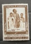 Sellos de Europa - Vaticano -  CANONIZACION DE LOS MARTIRES DE UGANDA