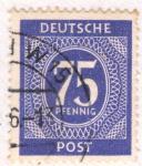 Sellos de Europa - Alemania -  Deutfches 1945