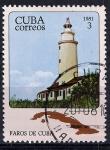 Stamps : America : Cuba :  Faros de Cuba. Cayo Piedras del Norte.