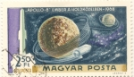 Sellos del Mundo : Europa : Hungría : Apolo 8 primer viaje de ida y vuelta a la Luna